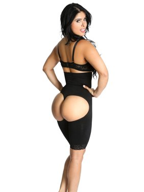 8c2057f2c Product Image Smok69 High Waist Butt Lifters Thigh Trimmers Tummy Control  Bodysuit 2 pack Nude L XL