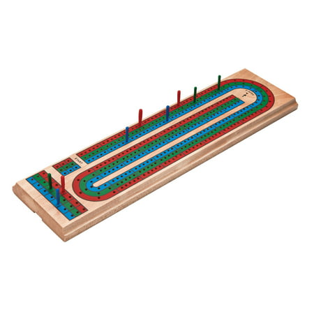 - Mainstreet Classics Wooden Cribbage Board