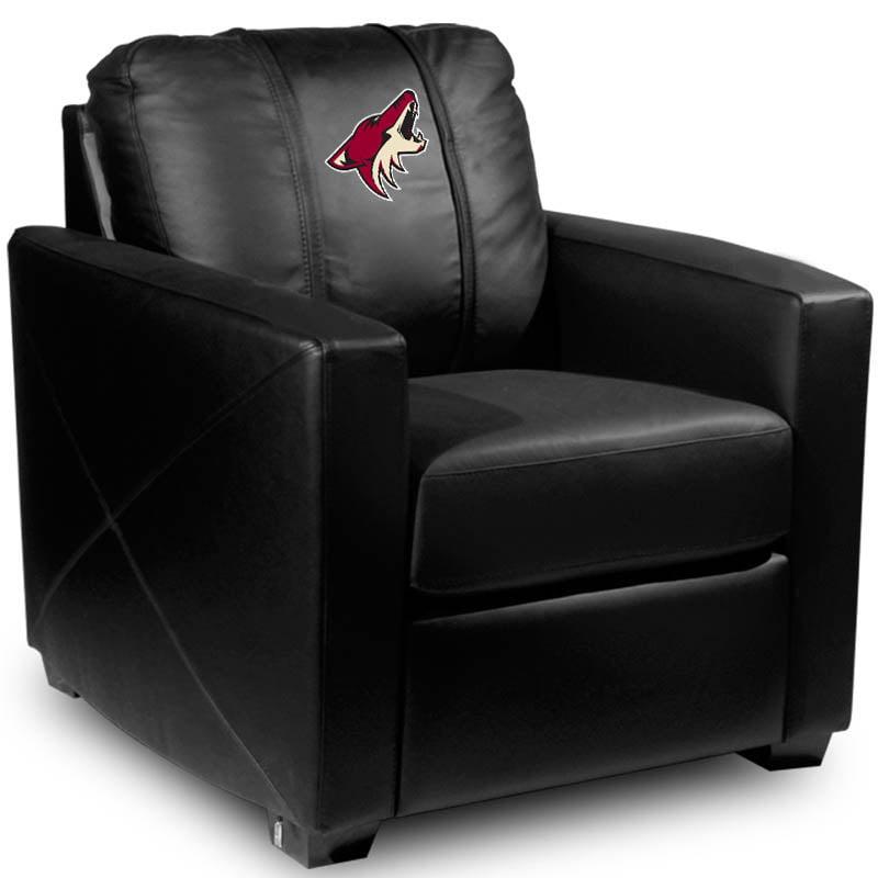 Arizona Coyotes NHL Silver Chair