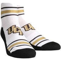 UCF Knights Rock Em Socks Women's Classic Stripes Quarter-Length Socks - S/M