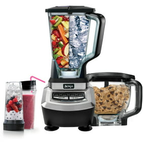 Ninja Mega Kitchen System Blender Mixer w/ Recipe Book (Certified  Refurbished)