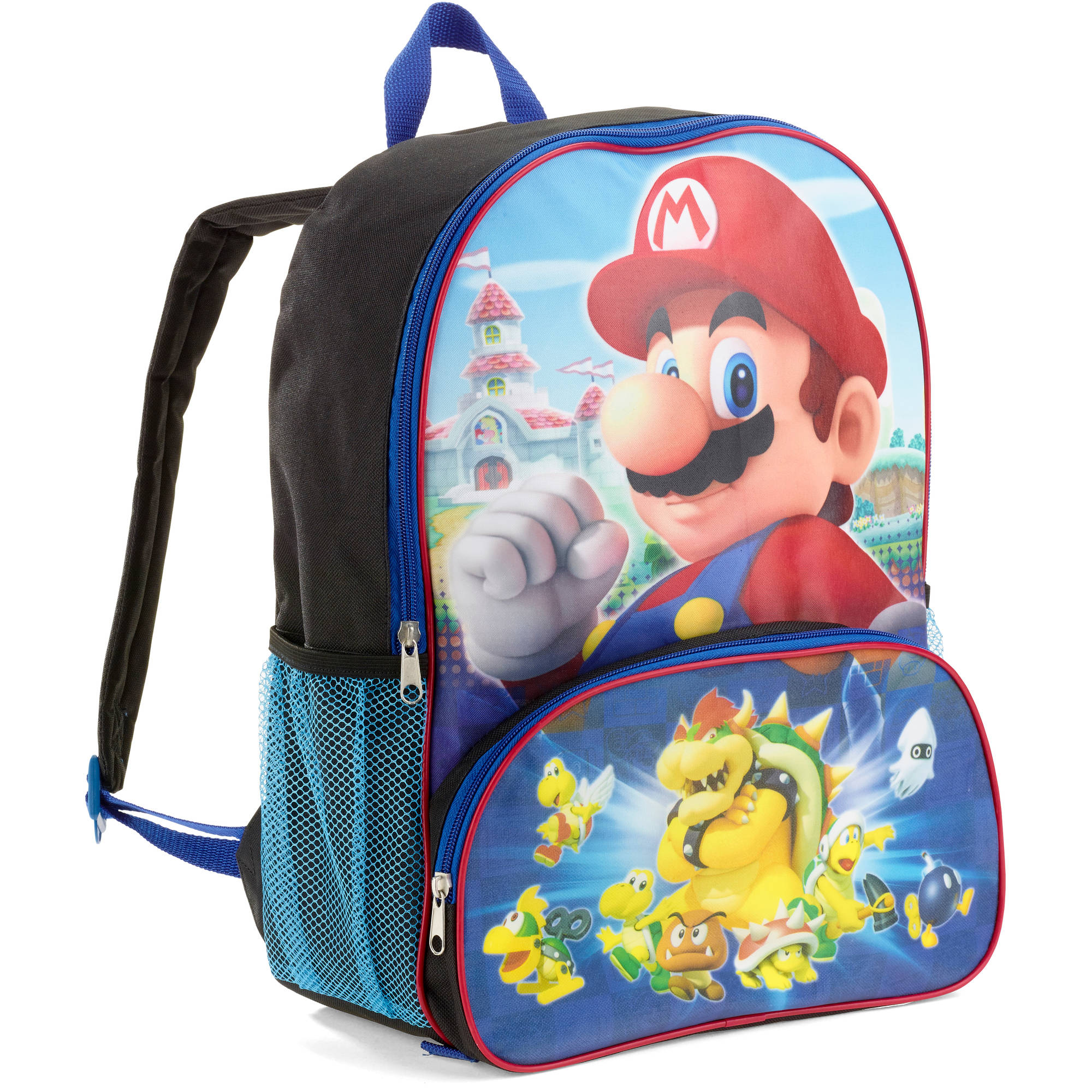 Super Mario 16 Inch Backpack