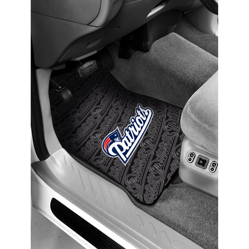 NFL - New England Patriots Floor Mats - Set of 2
