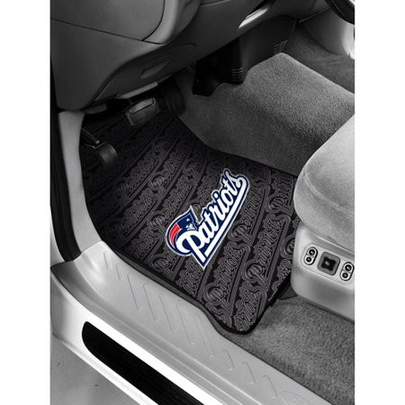 NFL New England Patriots Floor Mats Set of 2 by