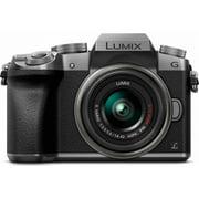 Panasonic LUMIX G7 Interchangeable Lens HD Silver DSLM Camera with 14-42mm Lens