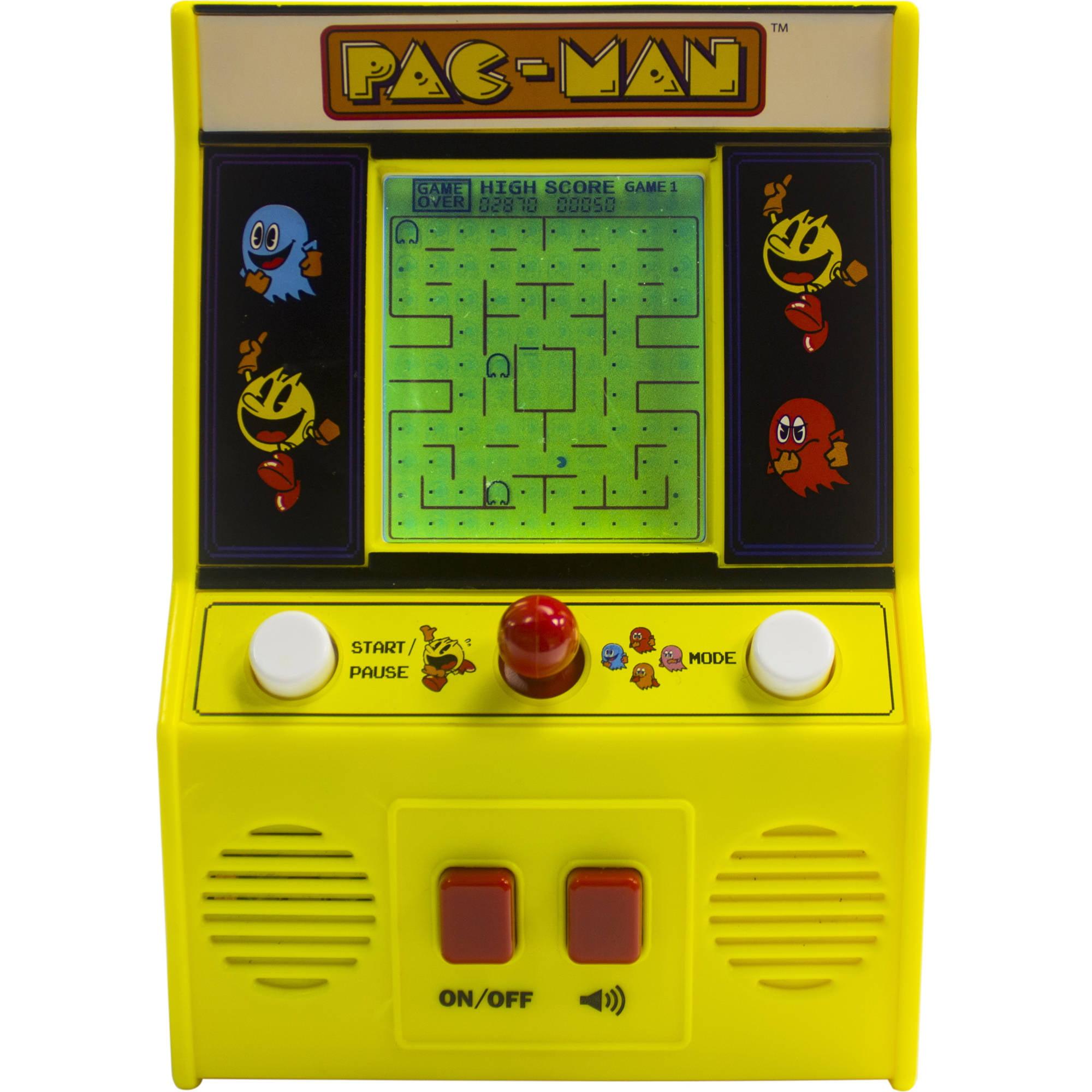 Electronics Games - Pac-Man Mini Arcade Game