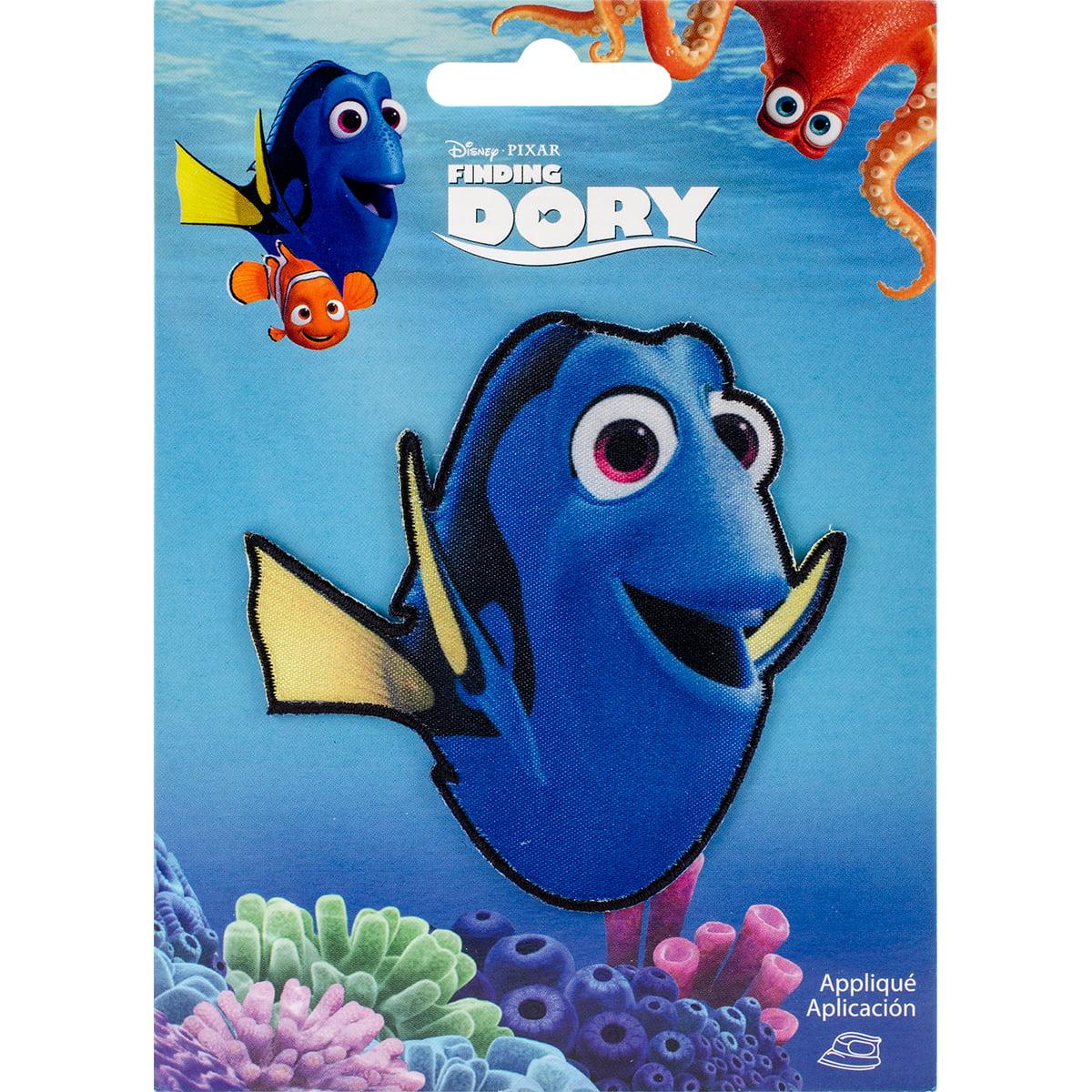 Disney Dory Iron-On Applique, Dory