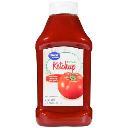 Great Value Tomato Ketchup  40 Oz