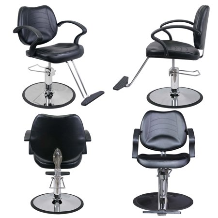 Barber Equipment (Classic Barber Beauty Salon Equipment Hydraulic Styling Chair 4 x SC-21BLK)