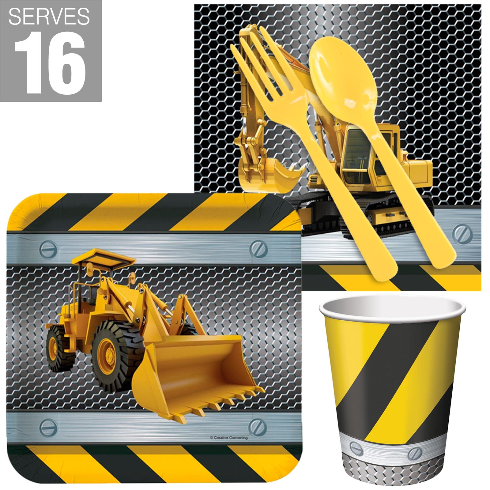 Construction Snack Party Pack For 16