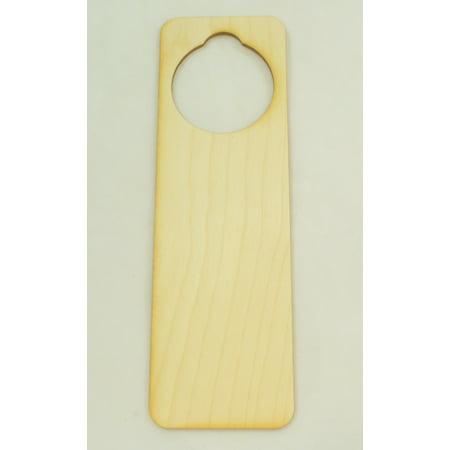 Package Of 10, Door Hanger Wood Cutout 9.5