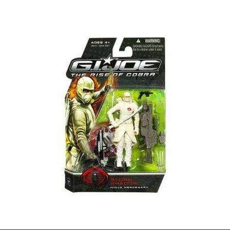 GI Joe The Rise of Cobra Storm Shadow Action Figure [Ninja Mercenary]](Gi Joe Storm Shadow)