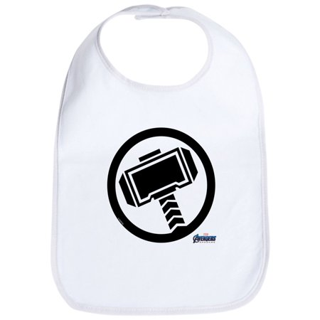 357239a08 CafePress - Thors Hammer - Cute Cloth Baby Bib, Toddler Bib - Walmart.com