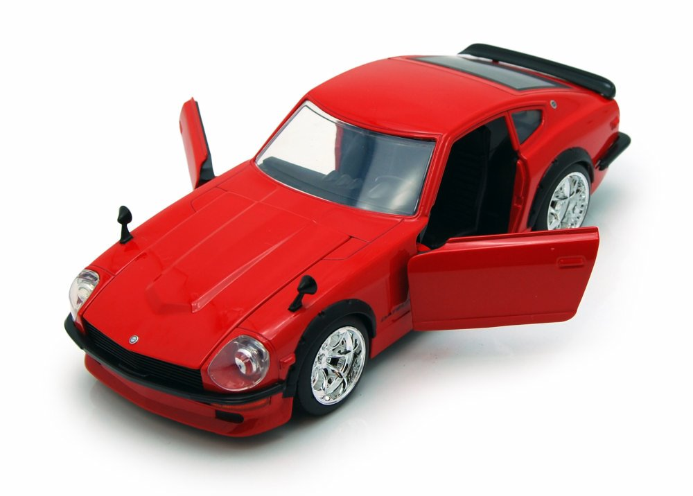 1972 Datsun 240Z, Red Jada Toys 92090 1 24 scale Diecast Model Toy Car (Brand but NOT IN... by Jada