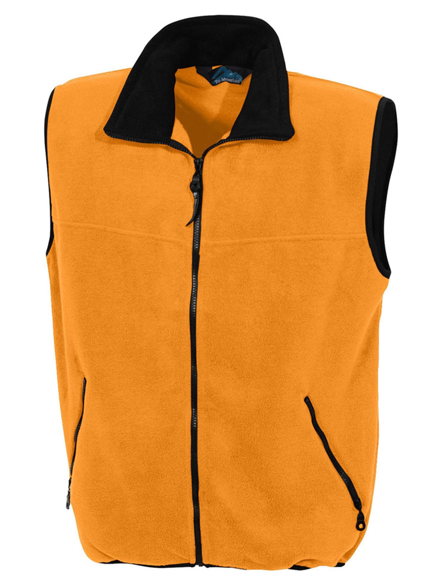 Tri-Mountain Men's Big And Tall Panda Fleece Vest