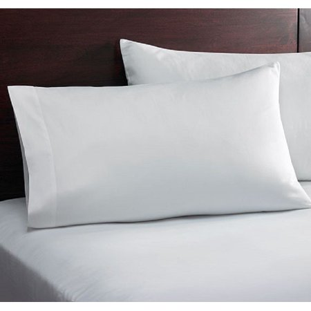ghp white 60 x80 x12 durable t 180 percale cotton blend queen size fitted sheet. Black Bedroom Furniture Sets. Home Design Ideas