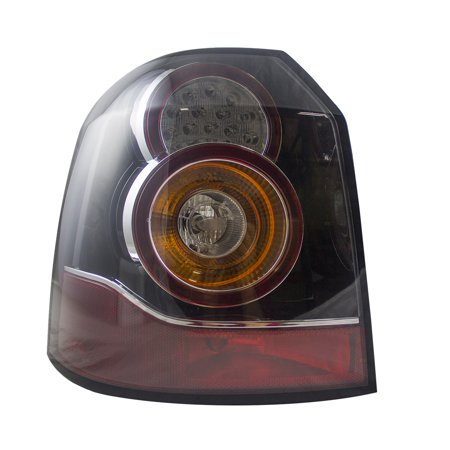 Drivers Taillight Tail Lamp LED type Replacement for Land Rover LR2  LR083981 166-60133L