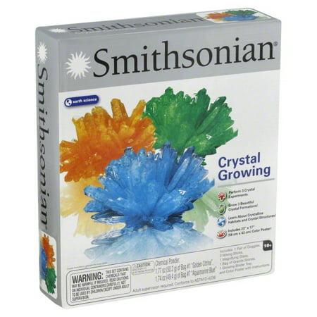 Smithsonian Crystal Growing Gem Like