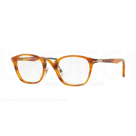 PERSOL Eyeglasses PO 3109V 960 Striped Brown (Persol Reading Glasses)