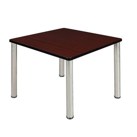 Mahogany Square Table - Kee 36
