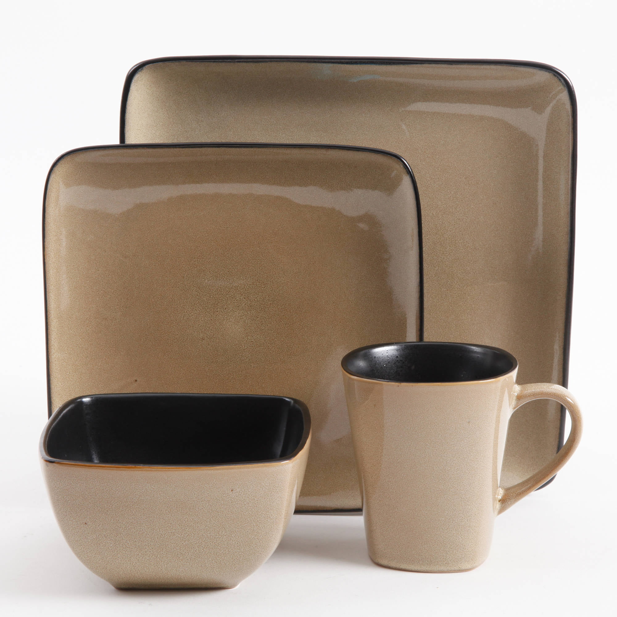 : brown dinnerware - pezcame.com