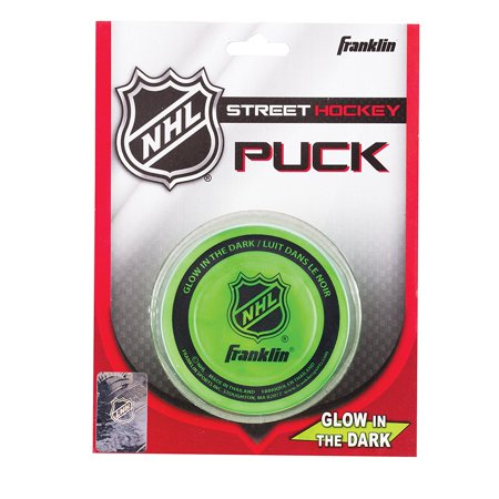 NHL Street Hockey Glow In the Dark Puck, Ball Franklin Set In Combo Glow Starter Density 2Pack Orange Buckets The 12211V 12231V NHL LightUp.., By Franklin Sports