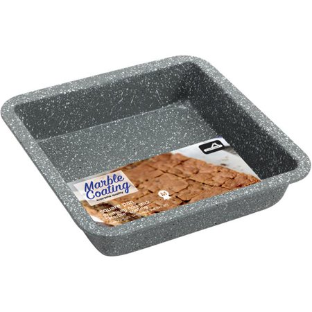 DDI 2169041 Marble Coated Square Cake Pan Case of 12