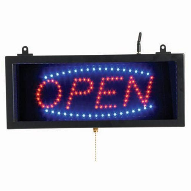 Aarco Products OPE02S Small LED Sign Open
