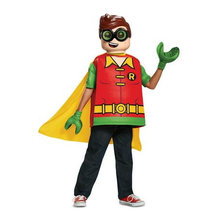 Lego Batman Robin Classic Child Halloween Costume - Batman Robin Halloween Costumes