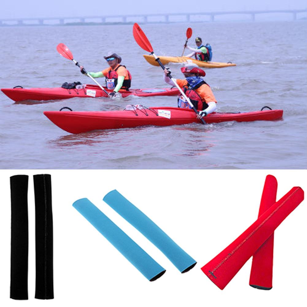 2* Kayak Canoe Oar Protective Cover Non-Slip Soft Paddle Grips Prevent Blister