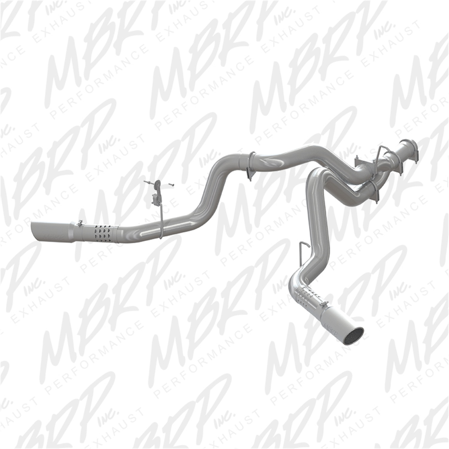 MBRP Exhaust S6035AL XP Series Cool Duals Filter Back Exhaust System