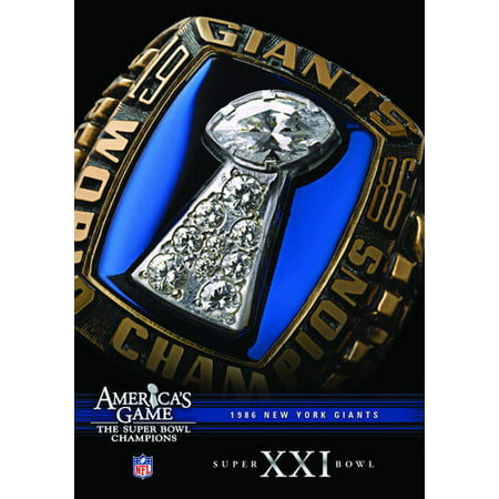 NFL America's Game: New York Giants Super Bowl XXI (DVD) Super Bowl Xxi
