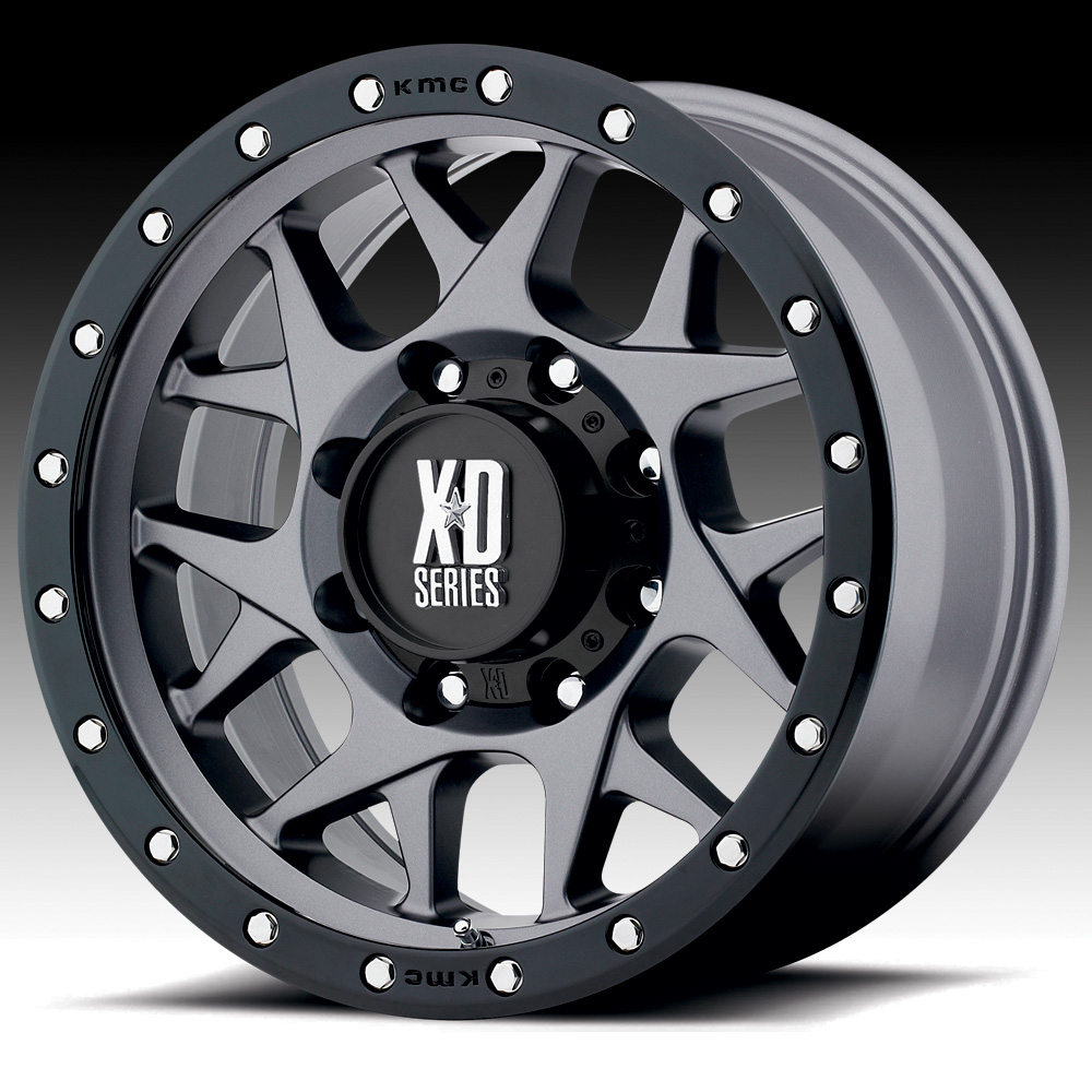 KMC XD XD127 Bully Satin Gray 20x9 5x5 18mm (XD12729050418)