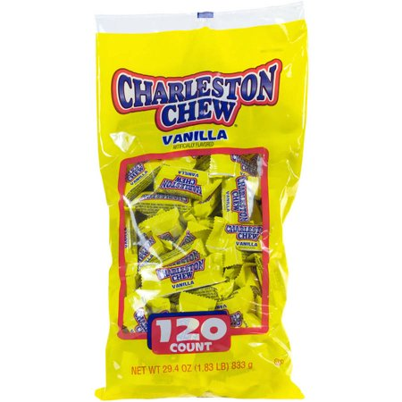 Charelston Chew, Small Bars Candy, 29.4 Oz, 120 Ct
