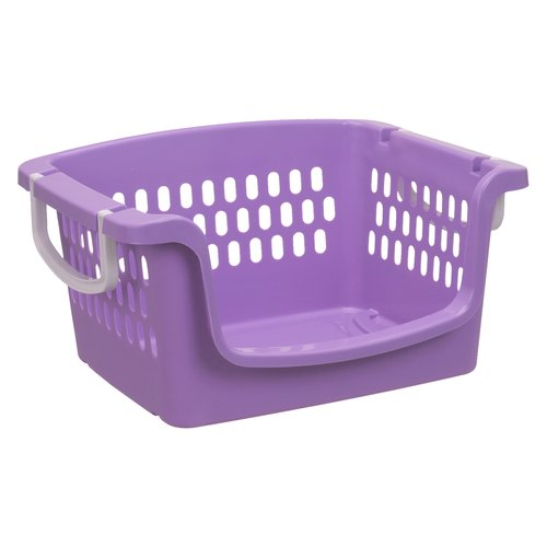 Mainstays Youth Stacking Bin, Violet