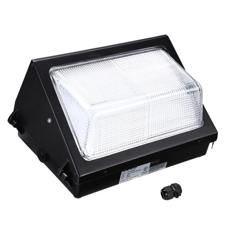 Led Wallpack (Yescom Commercial 80W LED Wall Pack Light 9600lm 5000K Waterproof IP65 UL Listed Outdoor Security Lighting)