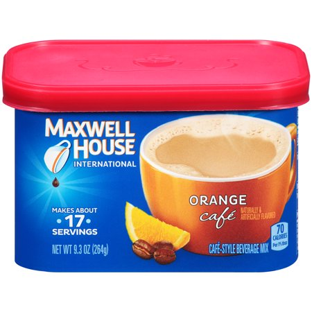 9.3 OZ COFFEE DRINK-INSTANT FLAVORED ORANGE CAFE 8 TRAY CASE](Halloween Coffee Flavors)