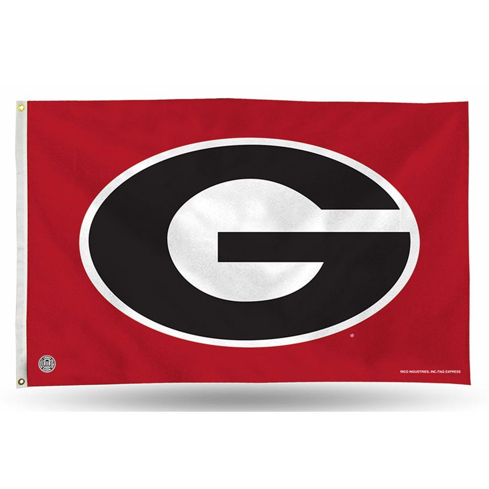 Georgia Bulldogs NCAA 3in x 5in Banner Flag