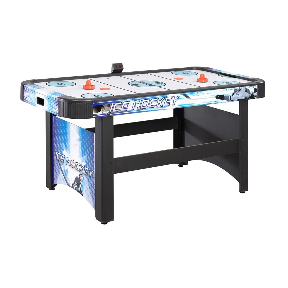 BlueWave NG1009H Face-Off 5 Ft. Air Hockey Table W/ Electronic Scoring