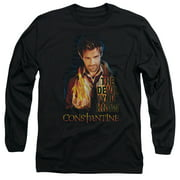 Constantine Devil You Know Mens Long Sleeve Shirt