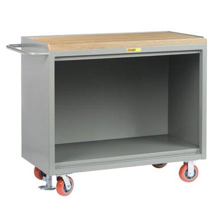 Enjoyable Little Giant Usa Mobile 54W Wood Top Workbench Creativecarmelina Interior Chair Design Creativecarmelinacom