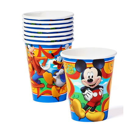 Mickey Mouse Clubhouse Paper Party Cups, 9 oz, 8ct - La Casa De Mickey Mouse Halloween Online