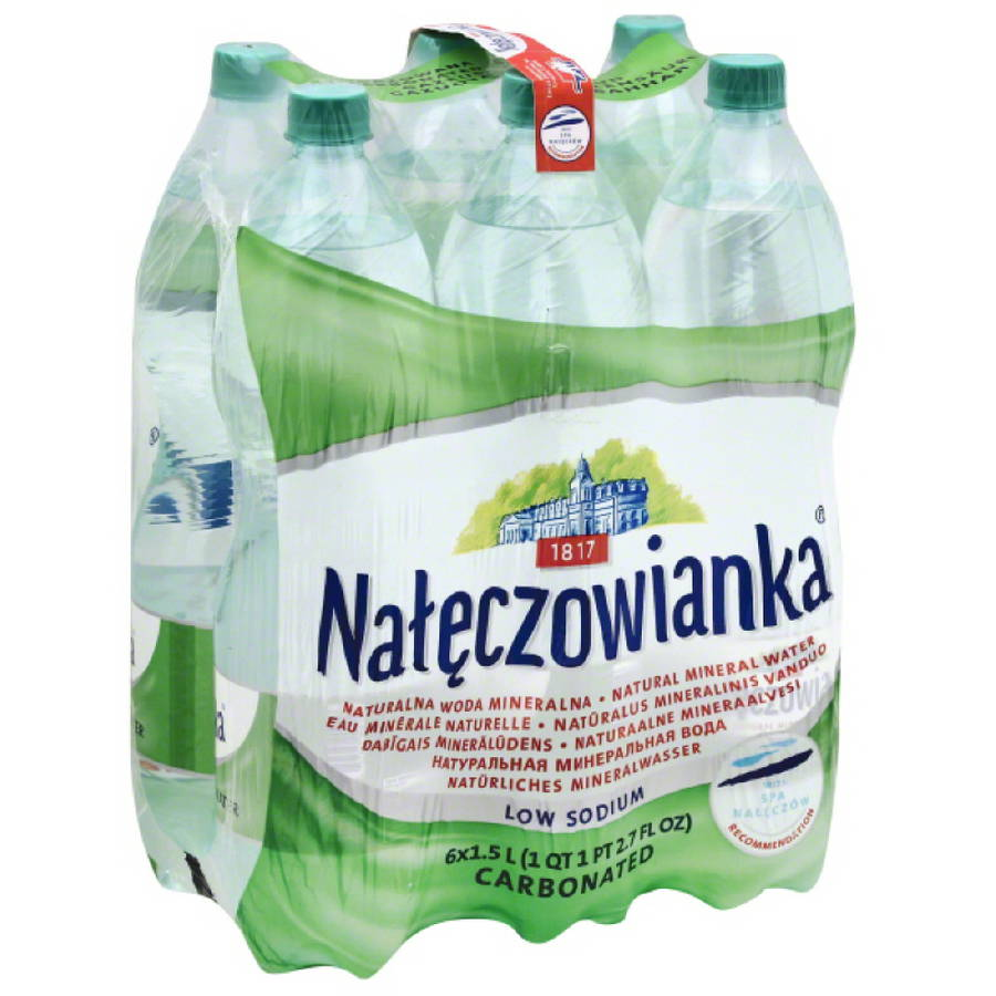Nateczowianka Natural Mineral Water, 9 l by