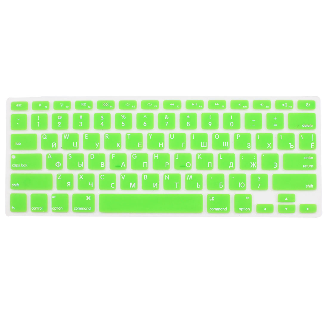 Russian Silicone Keyboard Skin Cover Green for Apple Macbook Air 13 15 17  US
