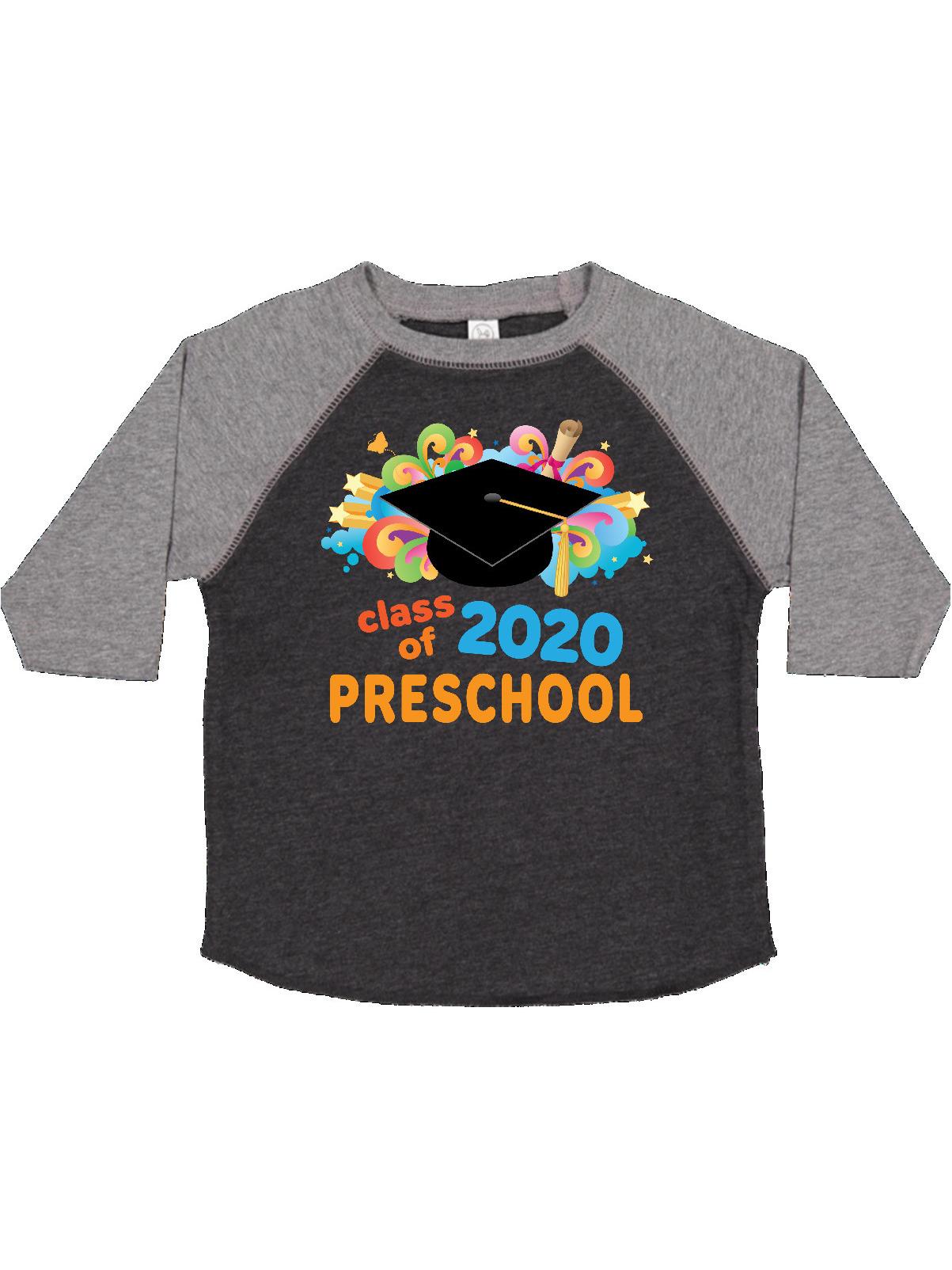 inktastic Preschool Graduation Class of 2020 Party Toddler T-Shirt