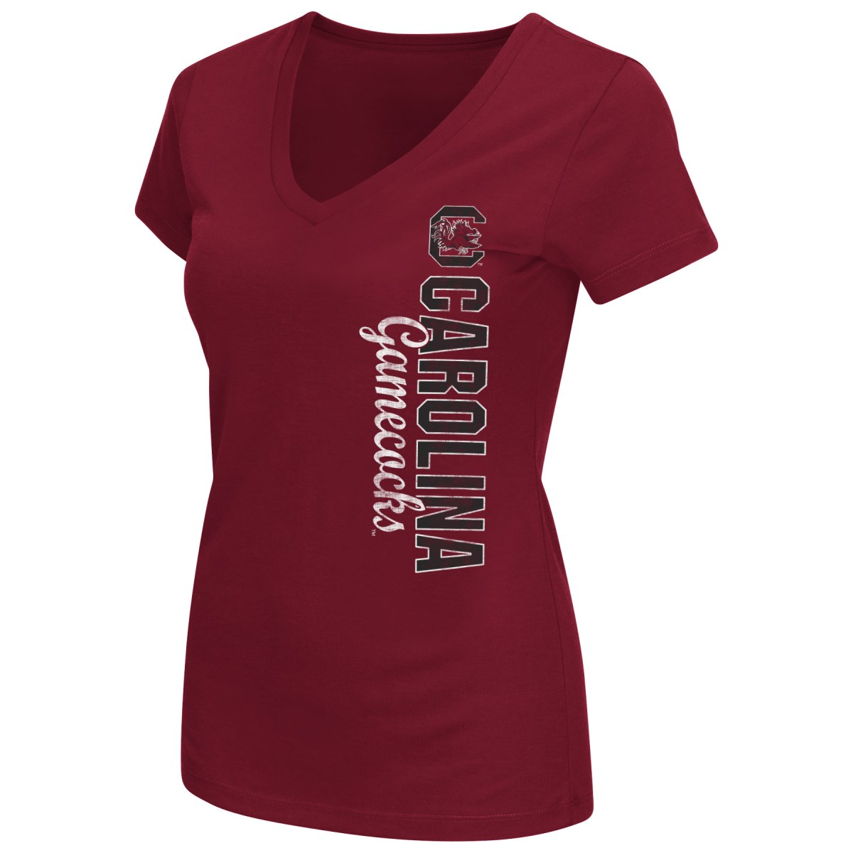 South Carolina Gamecocks Women's NCAA Compulsory Dual Blend Short Sleeve T-Shirt