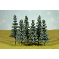 """Bachmann-Blue Spruce Trees 5-6"""" 6/ - HO"""