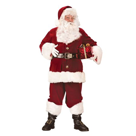 Deluxe XL Santa Suit for Adults - Size 50-54