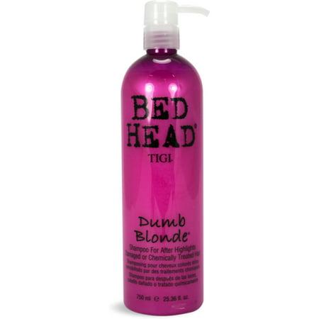 TIGI Bed Head Dumb Blonde Shampoo, 25.36 - Tight Blonde