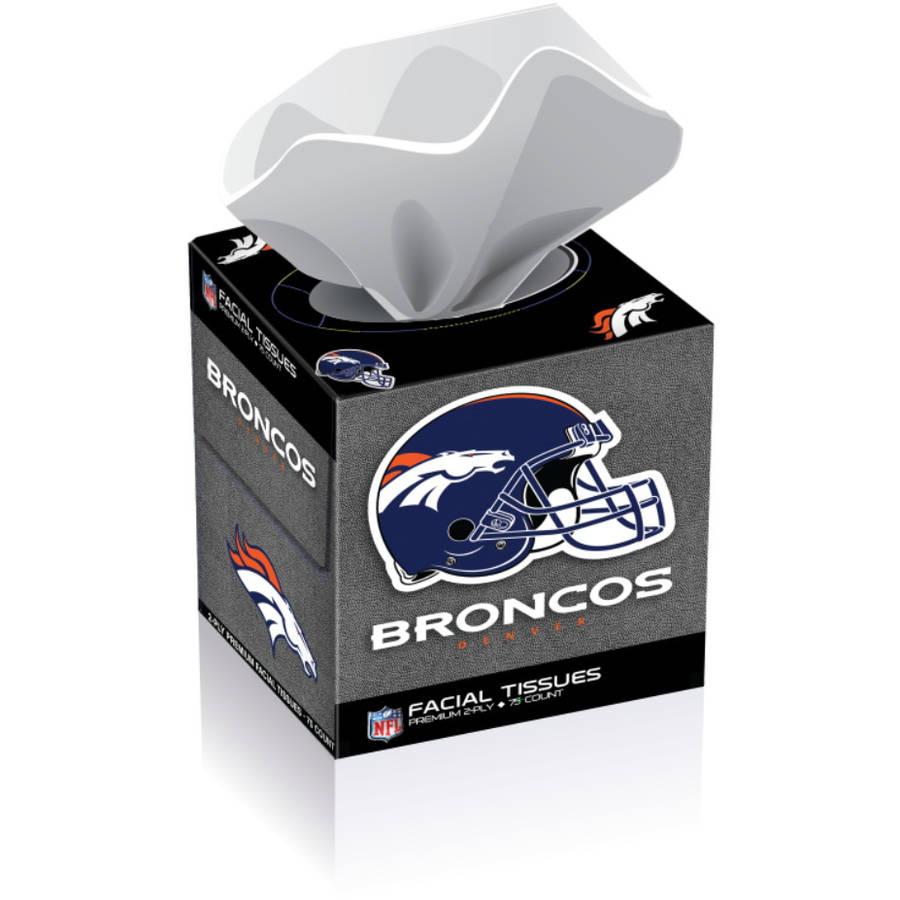NFL Denver Broncos Tissue Boxes